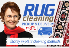 free rugs pick-up service