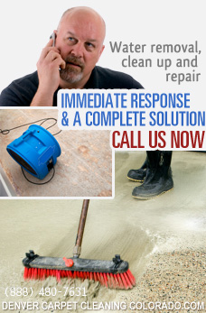 water damage restoration and extraction
